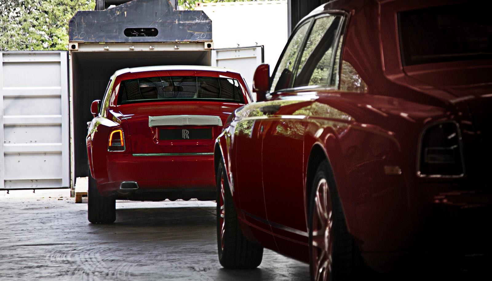 Rolls-Royce Phantom for The 13 hotel (2)