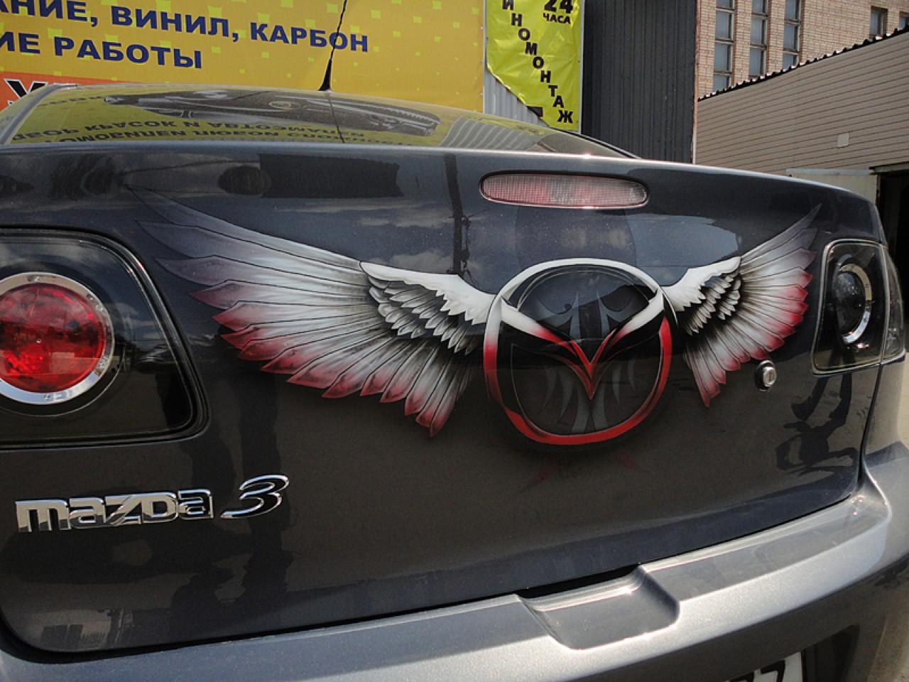 سيارات رائعة بلوحات فنية طبيعية اروع Russia-airbrush-cars-2