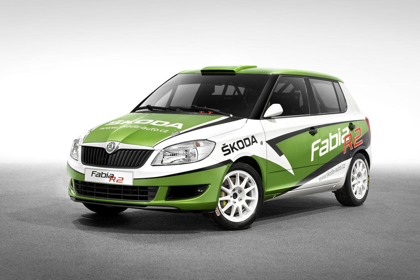 skoda fabia r2 rally car. Black Bedroom Furniture Sets. Home Design Ideas