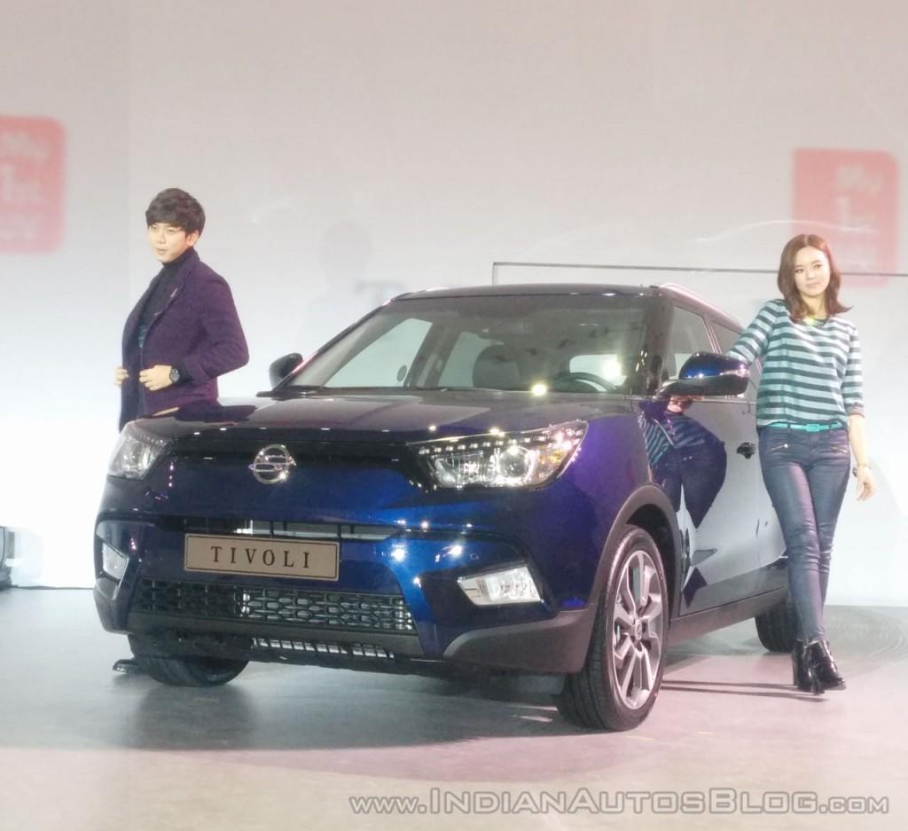 Ssangyong Tivoli 1 6 Se Suv Diesel Hatchback: Το SsangYong Tivoli θα παρουσιαστεί στη Γενεύη, κυκλοφορεί