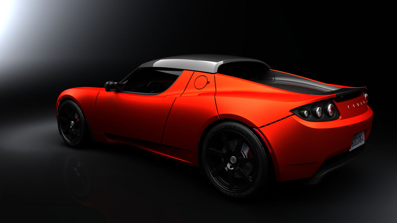 New Car Tesla Roadster Sport