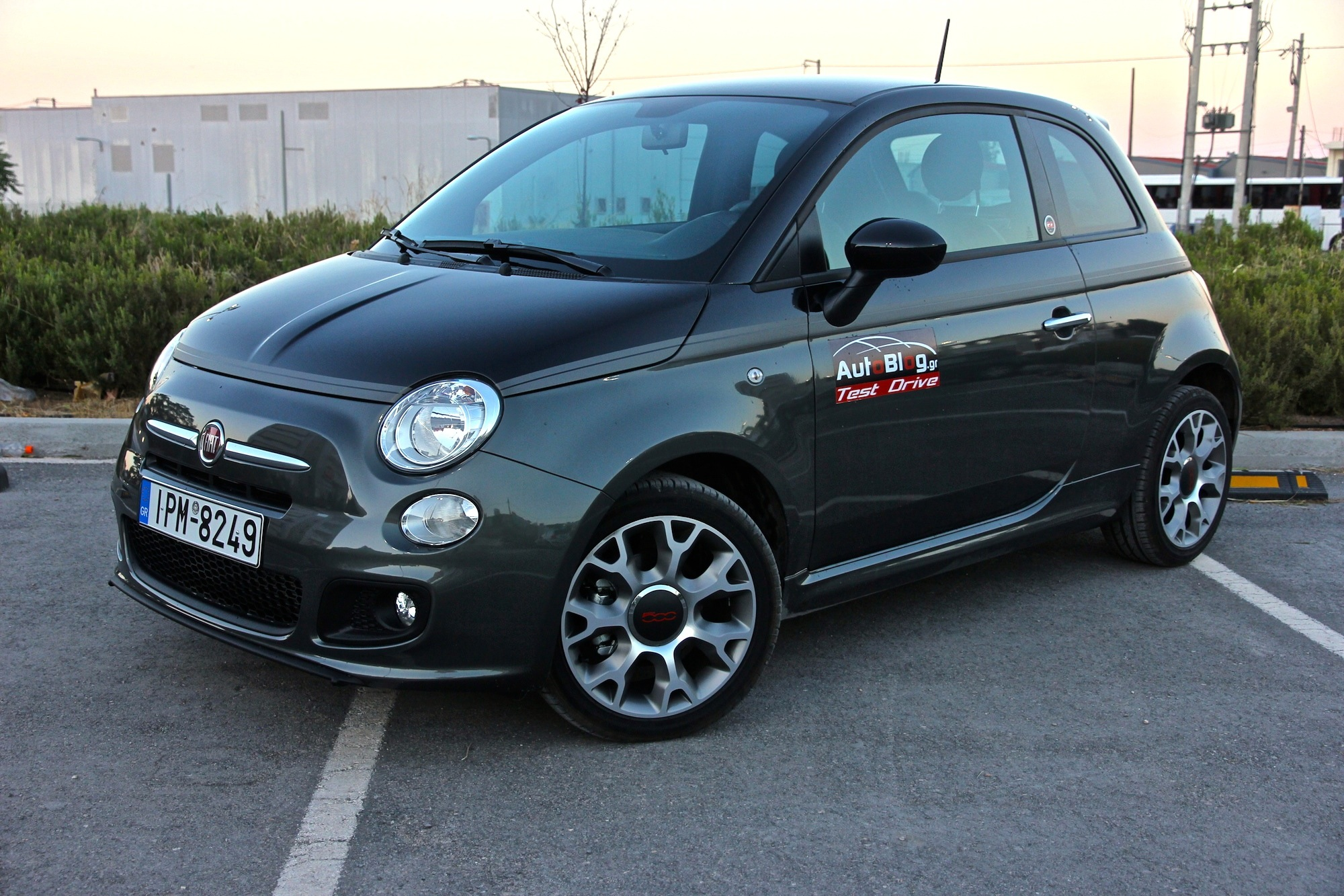 test drive fiat 500 gq my2014 1 3. Black Bedroom Furniture Sets. Home Design Ideas
