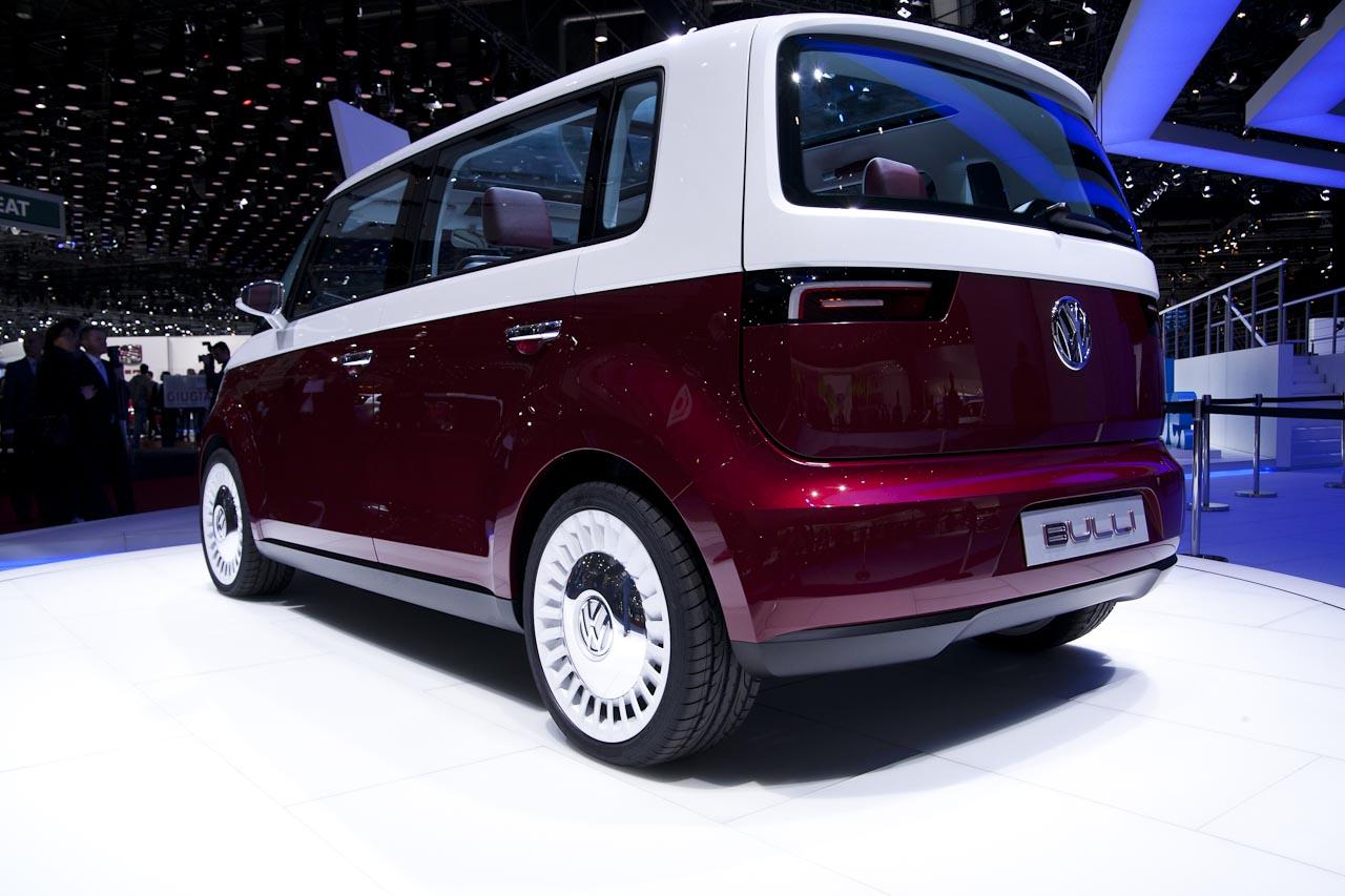Volkswagen Bulli Concept Is A Microbus Redux For Geneva ...