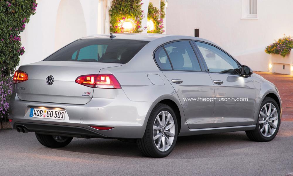 Volkswagen Jetta 2015 [Rendering]