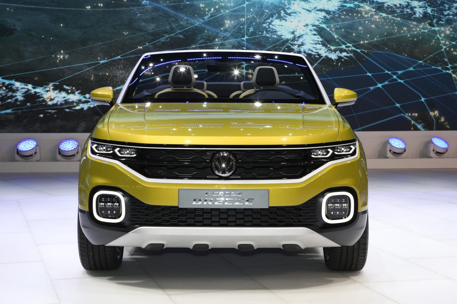 Έ ύ 2016 Volkswagen T Cross Breeze Concept