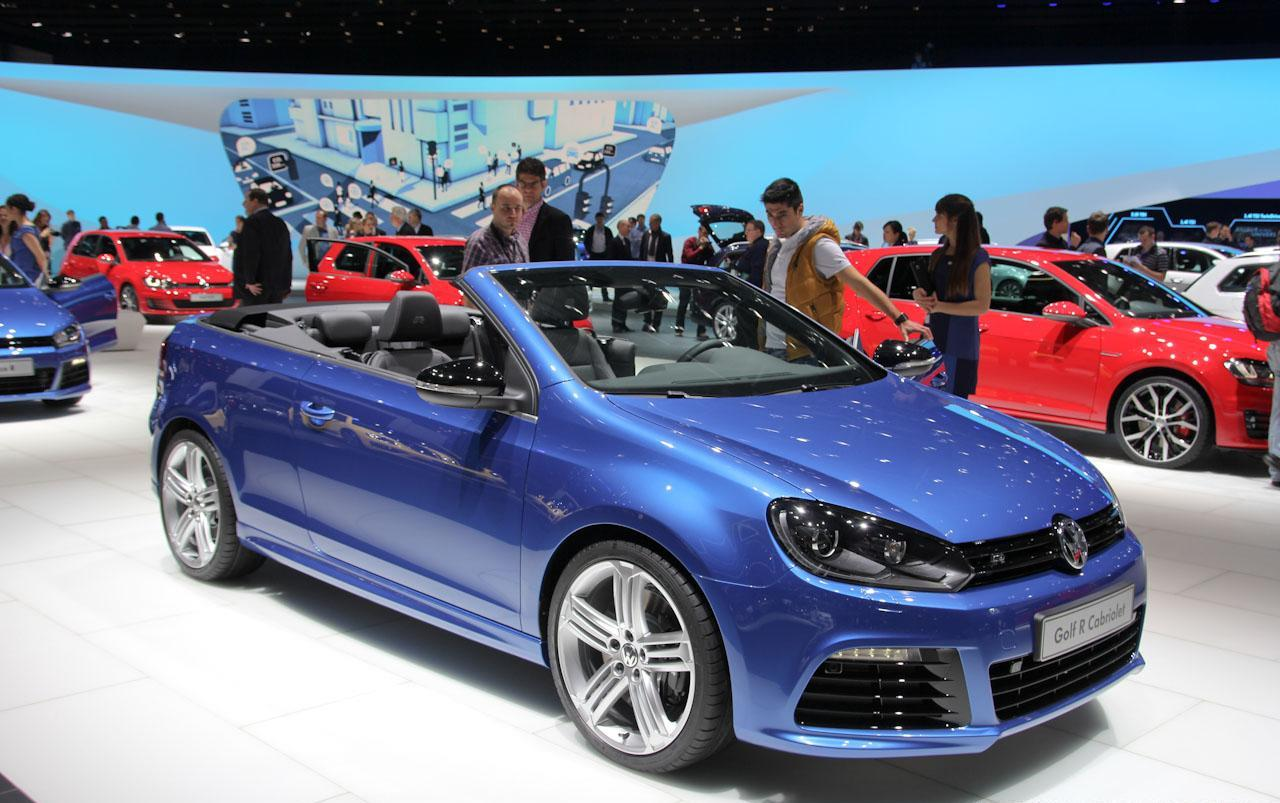salon de gen ve 2013 golf r cabriolet dark cars wallpapers. Black Bedroom Furniture Sets. Home Design Ideas