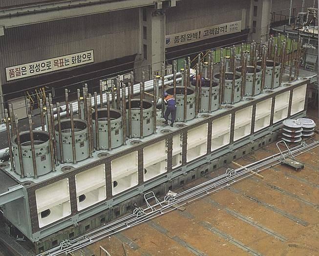 World largest diesel engine