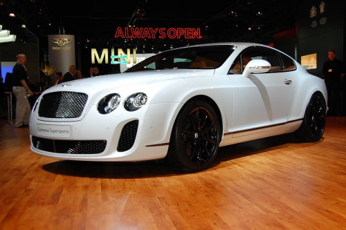 Bentley Continental Supersports. της Bentley Continental