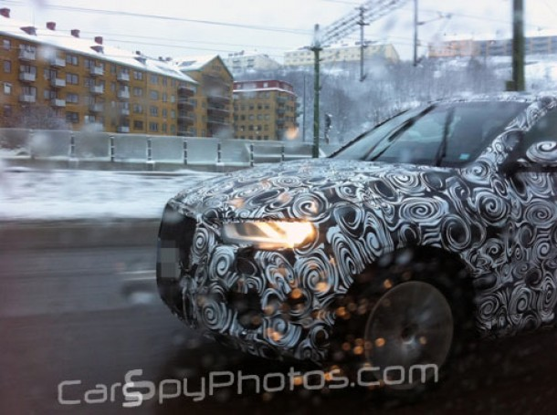 Audi A3 2012 Spy Shots. Spy Photos: Audi Q3
