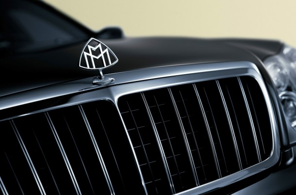 Maybach Exelero Logo. Maybach Exelero replica στη