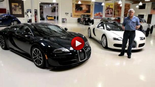 video o jay leno bugatti veyron super sport. Black Bedroom Furniture Sets. Home Design Ideas