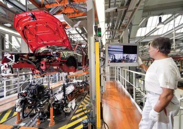 Audi Plant Production 3 610x431 Το VW Group μειώνει το κόστος παραγωγής των μοντέλων του κατά 5 δις ευρώ ετησίως