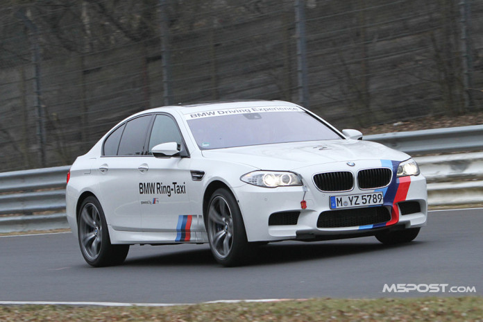 BMW M5 F10 Ringtaxi