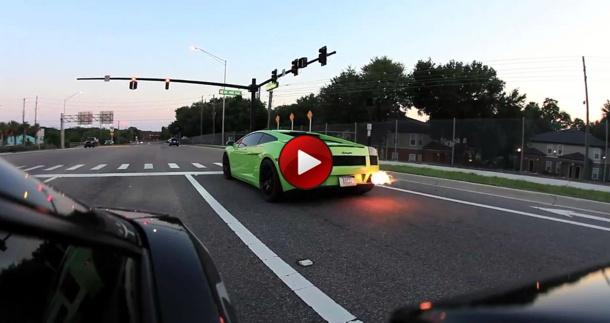Video Underground Racing Twin Turbo Lamborghini