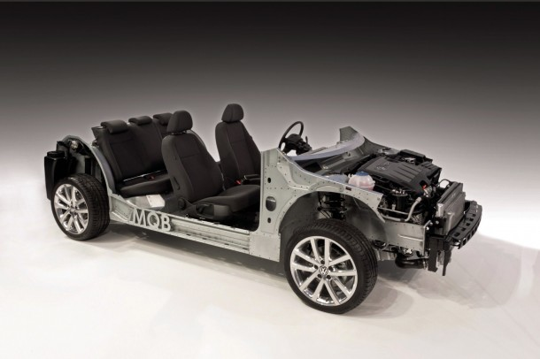 Volkswagen Golf 7 MQB Platform 1 610x406 Τον Αύγουστο ξεκινά η παραγωγή του νέου Volkswagen Golf