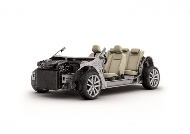 Volkswagen Golf 7 MQB Platform 4 610x431 Τον Αύγουστο ξεκινά η παραγωγή του νέου Volkswagen Golf