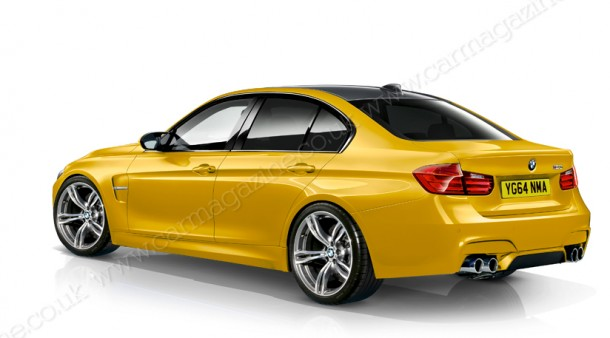 BMW M3 2014 Renderings (2)