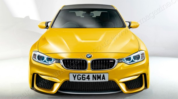 BMW M3 2014 Renderings (3)