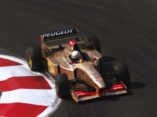 184 - F1 1996. France. Martin Brundle/Jordan Peugeot. 8eme