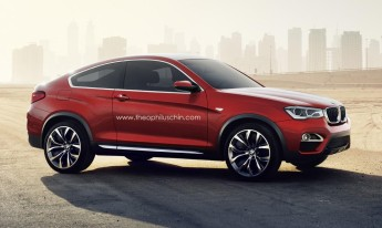 BMW X4 Coupe rendering