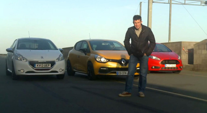 Ford fiesta st vs peugeot 208 gti vs renault clio rs autos post