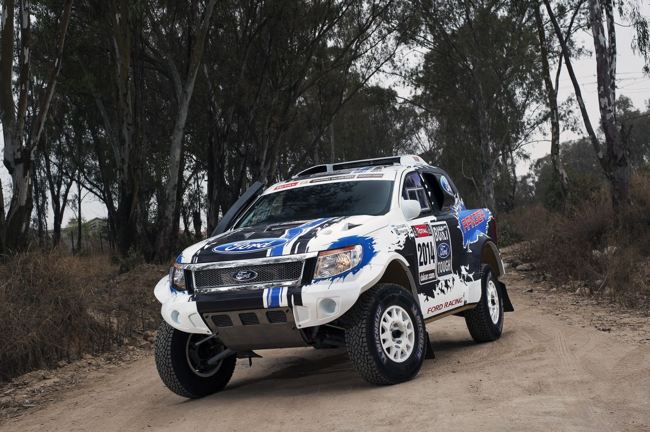 ύ Ranger Rally Dakar 2014 Ford Autoblog Gr