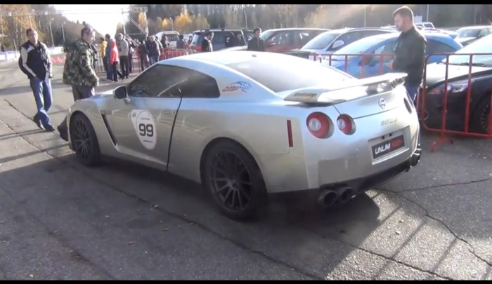 Switzer Goliath Unlim 500 700x405 Video: Δείτε το Nissan GT R της Switzer με τα 1.800 άλογα στο Unlim 500+