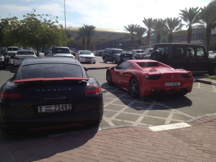 Supercars on American University in Dubai (55)