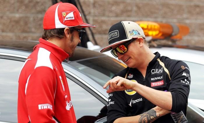 alonso raikkonen 700x423 Ο Raikkonen θα οδηγήσει πρώτος τη νέα Ferrari