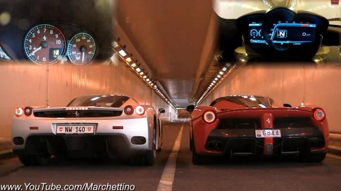 Ferrari Enzo vs LaFerrari 700x392 Rev Battle: Ferrari Enzo vs LaFerrari