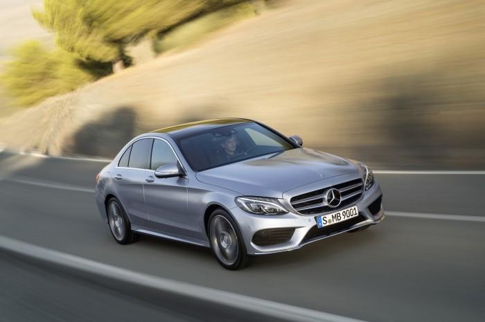 Mercedes-Benz C250, AMG Line, Avantgarde, Diamantsilber metallic