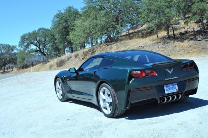 2014-Corvette-Stingray-Lime-Rock-Green-Three-Quarter-Rear-1024x680