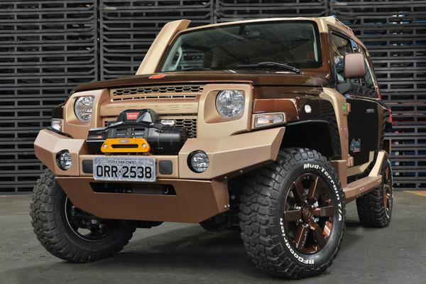 Ford Troller T4 concept 1