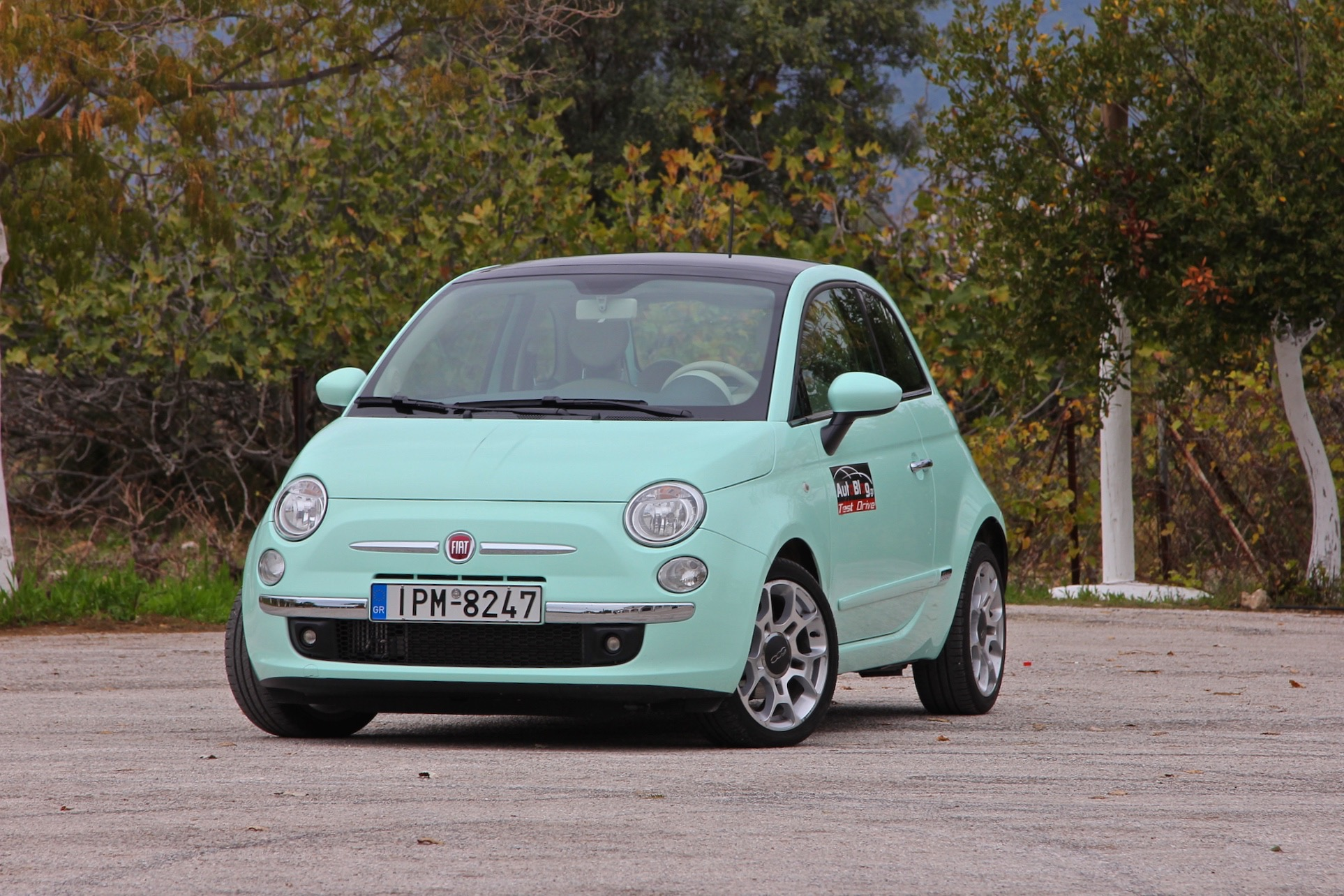 test drive fiat 500 0 9 twinair 105hp cult 3. Black Bedroom Furniture Sets. Home Design Ideas