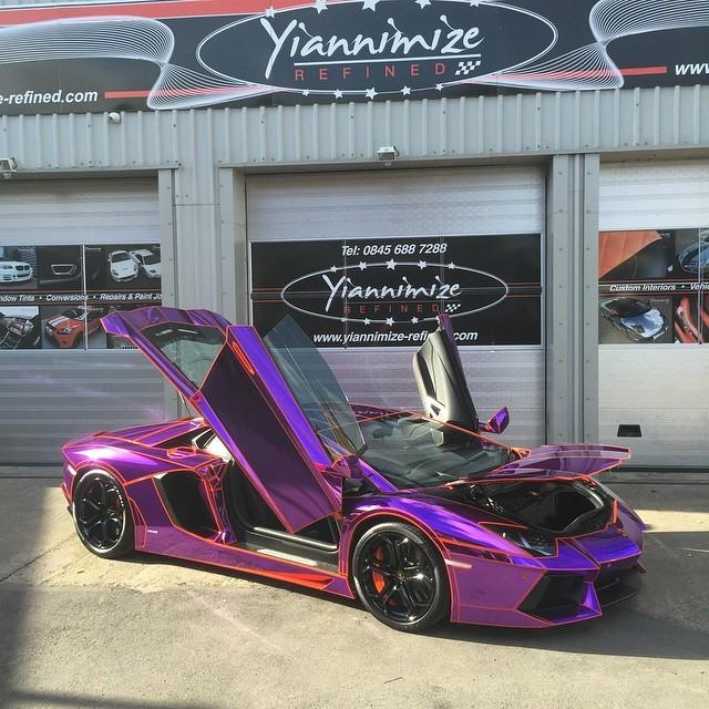 Αγορασε,Lamborghini,Aventador,Εντυσε,Ταινιας,Βρετανος