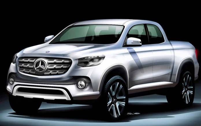 Mercedes-Benz-pickup