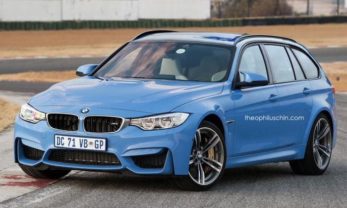 BMW M3 Touring rendering 2