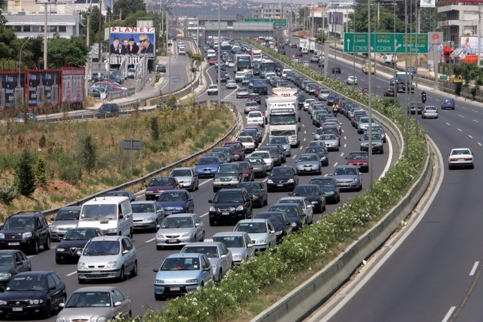 athens kinisi traffic teli