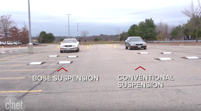 Watch Bose's incredible electromagnetic car suspension system in action CNET