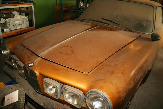 BMW 3200 CS Bertone Coupe barnfind (3)