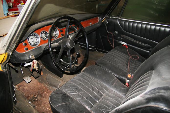 BMW 3200 CS Bertone Coupe barnfind (6)