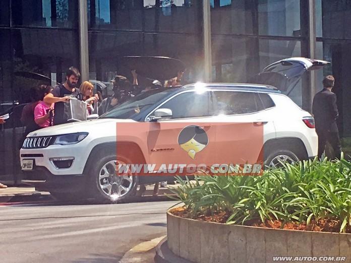 Jeep Compass 2017 spy photos (1)