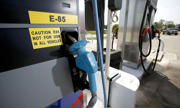 Filling Stations Sell E85 Fuel Made From Ethanol Across The Midwest